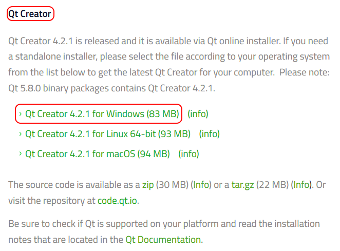 Installing Qt and Qt Creator